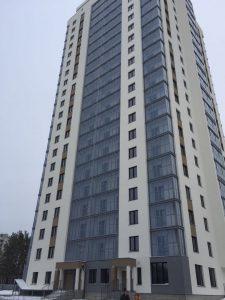 21-этажный дом на берегу Обского моря
