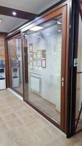 Новый образец – панорамные раздвижные двери